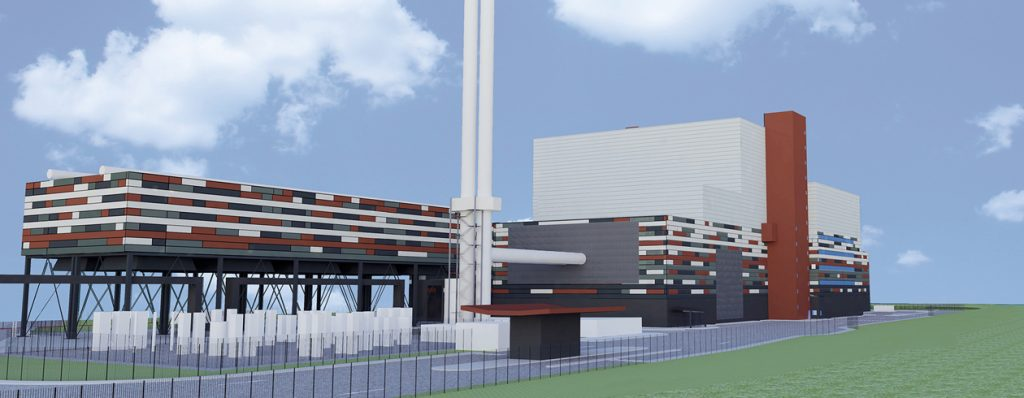 Kemsley Energy From Waste Plant Curtis Moore Cladding Systems Ltd