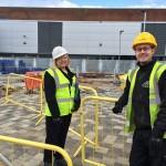 Work Progressing Towards Completion At Wythenshawe