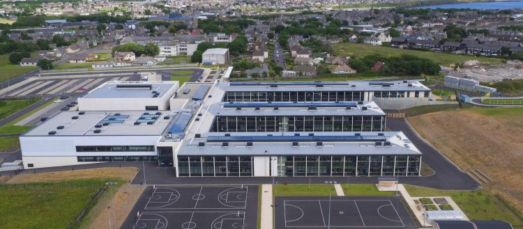 Wick Community Campus Curtis Moore Cladding Systems Ltd