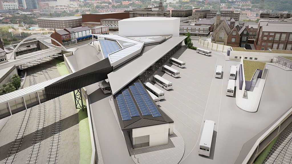 Bolton Interchange Second Project For Tfgm Curtis