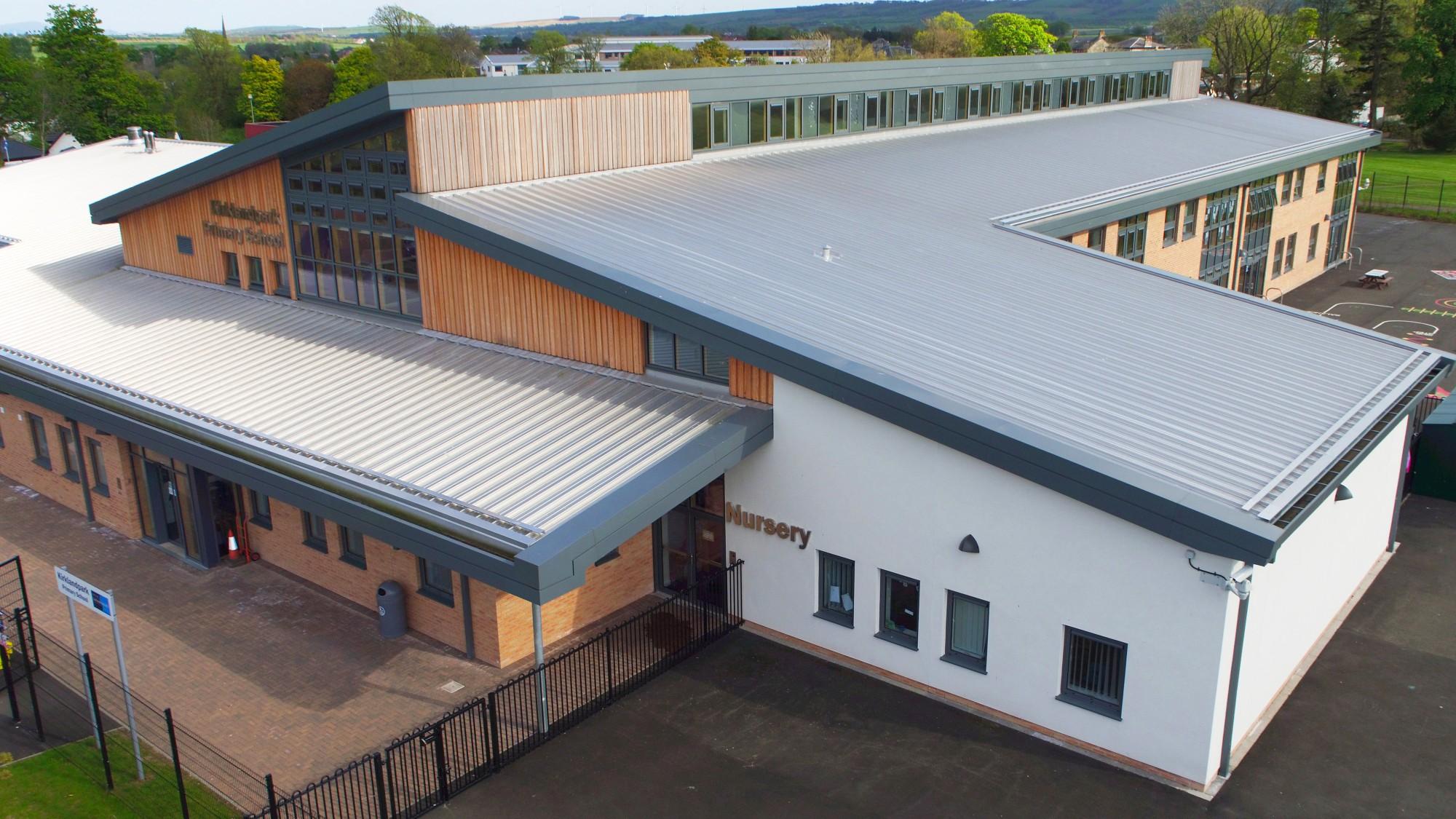 Kirklandpark Primary School Curtis Moore Cladding