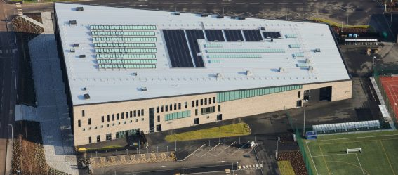 Bertha Park Aerial Photo